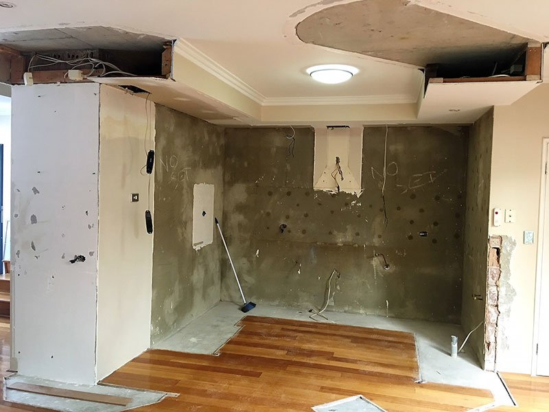 Ceiling repair by Authentic Additions 1