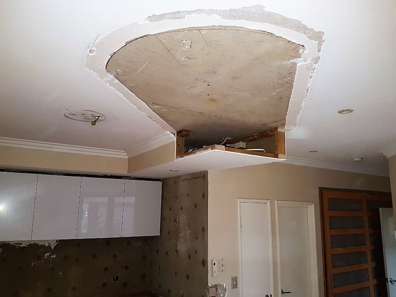 Ceiling repair by Authentic Additions 2