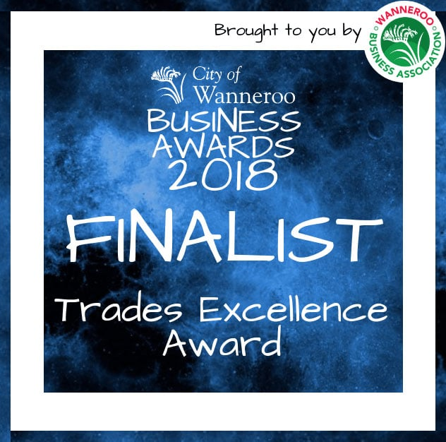 City of Wanneroo Business Awards 2018 Finalist
